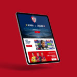 Cagliari Calcio Web deisgn